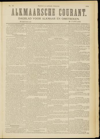 Alkmaarsche Courant 1914-01-28