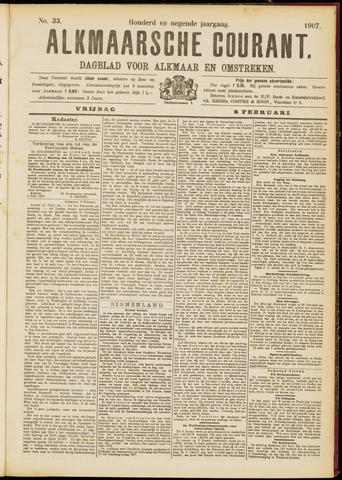 Alkmaarsche Courant 1907-02-08