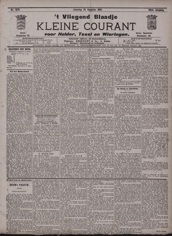 Vliegend blaadje : nieuws- en advertentiebode voor Den Helder 1900-08-25