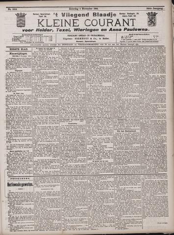 Vliegend blaadje : nieuws- en advertentiebode voor Den Helder 1904-11-05