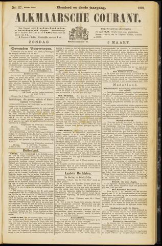 Alkmaarsche Courant 1901-03-03