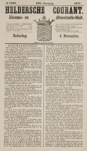 Heldersche Courant 1871-11-04