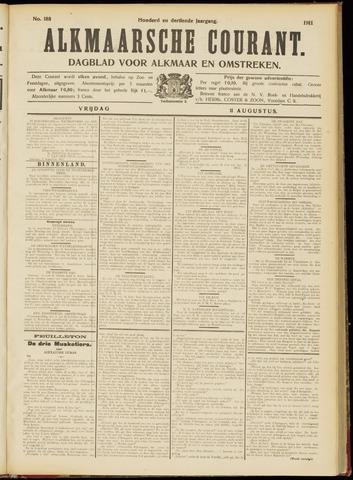 Alkmaarsche Courant 1911-08-11