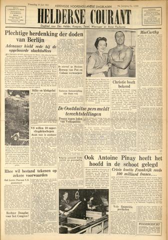 Heldersche Courant 1953-06-24