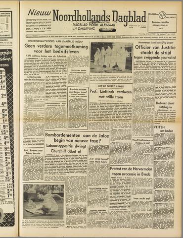 Nieuw Noordhollandsch Dagblad : voor Alkmaar en omgeving 1952-06-25