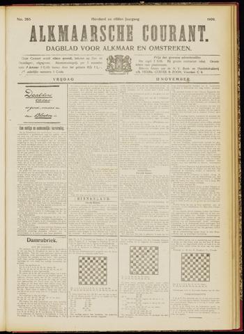 Alkmaarsche Courant 1909-11-12