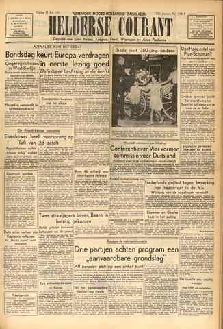 Heldersche Courant 1952-07-11