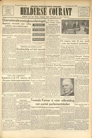 Heldersche Courant 1952-02-20