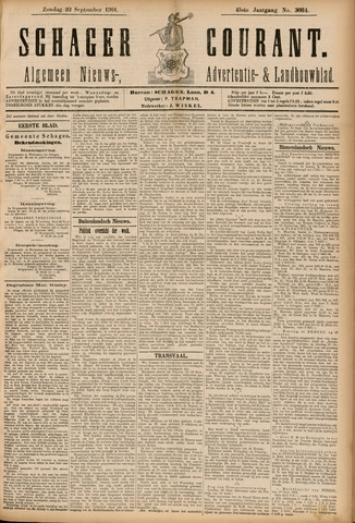 Schager Courant 1901-09-22
