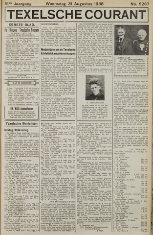 Texelsche Courant 1938-08-31