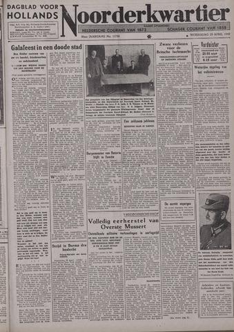 Dagblad voor Hollands Noorderkwartier 1942-04-29