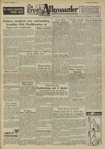 De Vrije Alkmaarder 1950-03-08