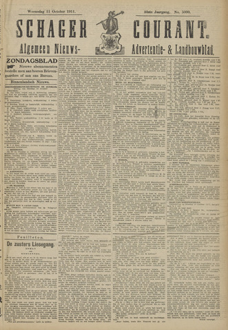 Schager Courant 1911-10-11