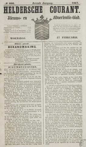 Heldersche Courant 1867-02-27