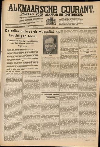 Alkmaarsche Courant 1939-03-30
