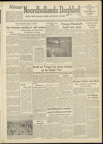 Nieuw Noordhollandsch Dagblad : voor Alkmaar en omgeving 1948-11-15