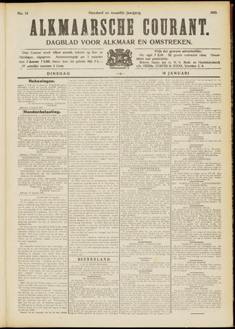 Alkmaarsche Courant 1910-01-18
