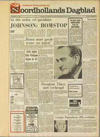 Noordhollands Dagblad : dagblad voor Alkmaar en omgeving 1968-11-01