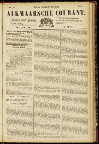 Alkmaarsche Courant 1884-05-21