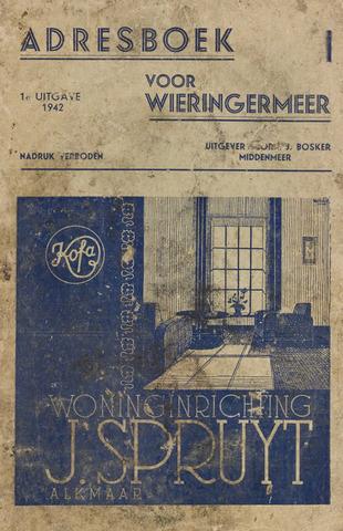 Adresboek van Wieringermeer 1942-01-01