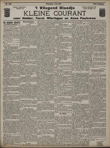 Vliegend blaadje : nieuws- en advertentiebode voor Den Helder 1909-07-07