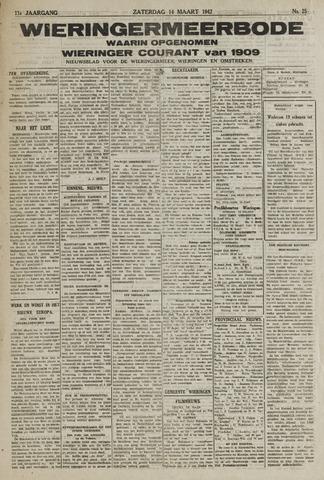 Wieringermeerbode 1942-03-14