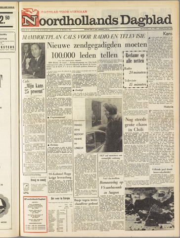 Noordhollands Dagblad : dagblad voor Alkmaar en omgeving 1965-03-30