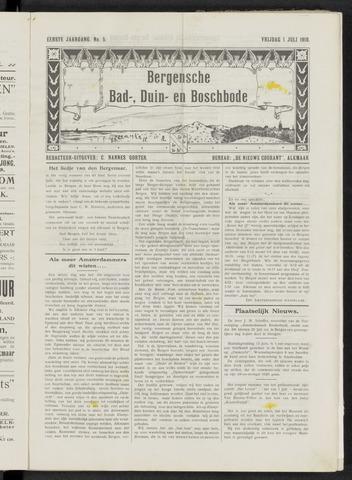 Bergensche bad-, duin- en boschbode 1910-07-01
