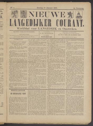 Nieuwe Langedijker Courant 1895-01-27