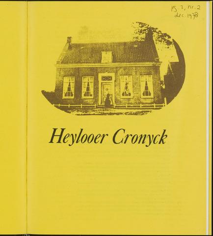 Heylooer Cronyck 1978-12-01