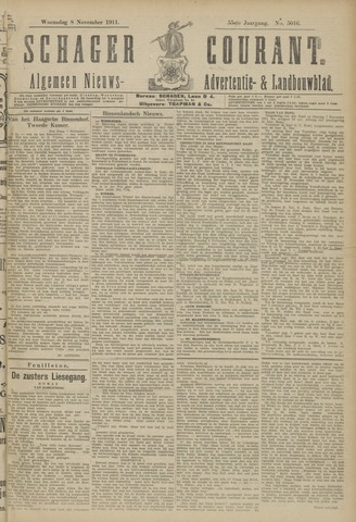 Schager Courant 1911-11-08