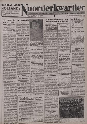 Dagblad voor Hollands Noorderkwartier 1942-02-09