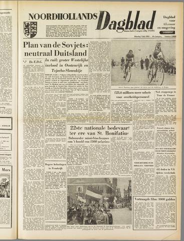 Noordhollands Dagblad : dagblad voor Alkmaar en omgeving 1953-07-07