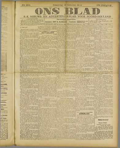 Ons Blad : katholiek nieuwsblad voor N-H 1919-10-13