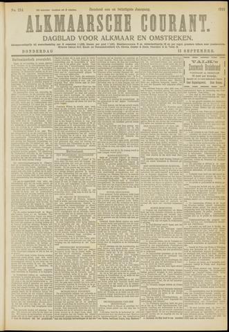 Alkmaarsche Courant 1919-09-11