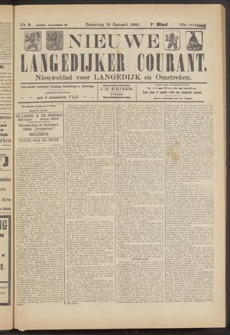 Nieuwe Langedijker Courant 1923-01-13
