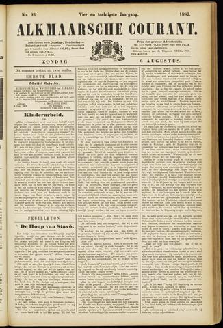Alkmaarsche Courant 1882-08-06