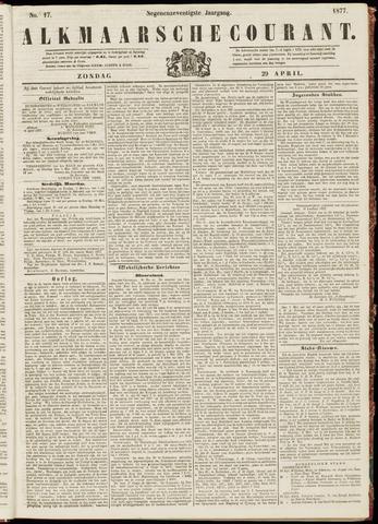 Alkmaarsche Courant 1877-04-29
