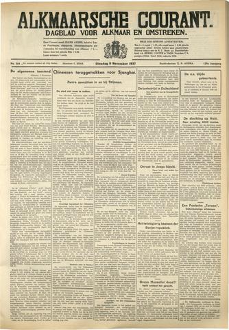 Alkmaarsche Courant 1937-11-09