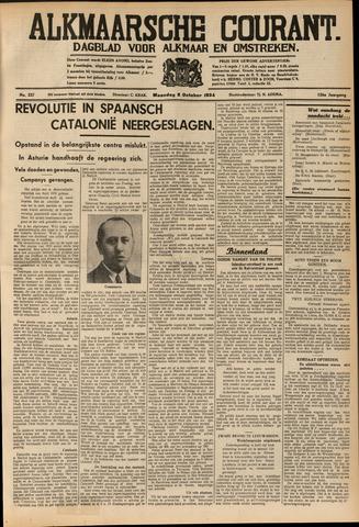 Alkmaarsche Courant 1934-10-08