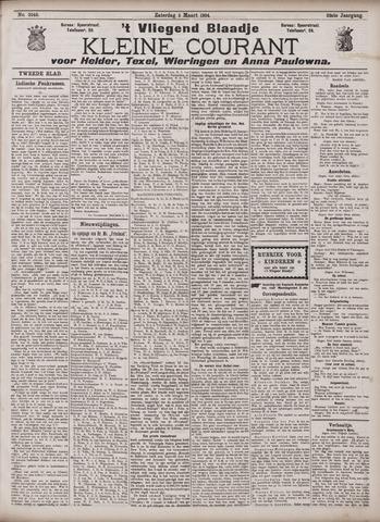 Vliegend blaadje : nieuws- en advertentiebode voor Den Helder 1904-03-05