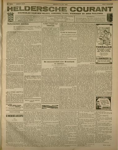 Heldersche Courant 1931-07-14