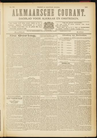 Alkmaarsche Courant 1917-07-16
