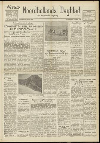 Nieuw Noordhollandsch Dagblad : voor Alkmaar en omgeving 1948-02-26