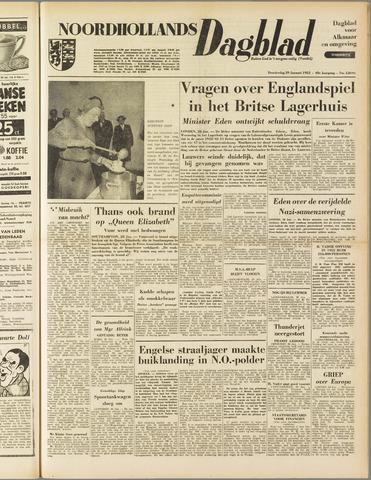 Noordhollands Dagblad : dagblad voor Alkmaar en omgeving 1953-01-29