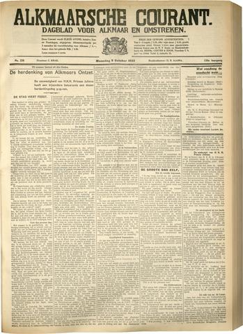 Alkmaarsche Courant 1933-10-09