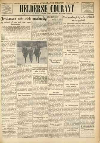 Heldersche Courant 1948-07-22