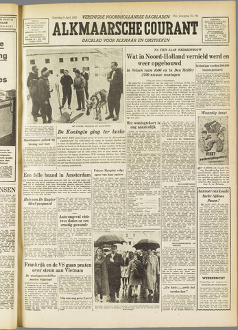 Alkmaarsche Courant 1955-04-09
