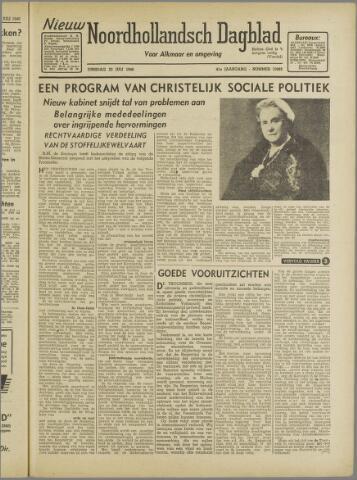 Nieuw Noordhollandsch Dagblad : voor Alkmaar en omgeving 1946-07-23