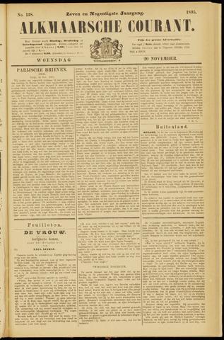 Alkmaarsche Courant 1895-11-20